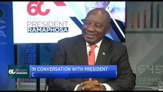 Download Exclusive: In conversation with SA's President Cyril Ramaphosa Video