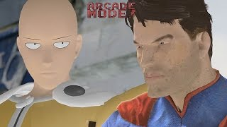 Download SAITAMA (ONE PUNCH MAN) vs. SUPERMAN | ARCADE MODE! [EPISODE 3] Video