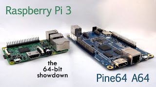 Download SHOWDOWN: Pine A64 vs Raspberry Pi 3 Video