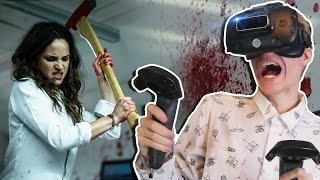 Download ESCAPING A DEADLY OFFICE IN VIRTUAL REALITY | Belko VR: Escape Room Experiment (HTC Vive Gameplay) Video
