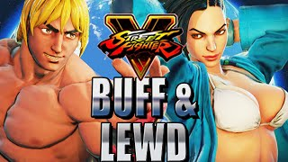 Download BUFF & LEWD - Road to Platinum w/Mods! (Street Fighter V Ranked) Video