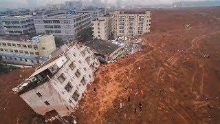 Download top-5 Massive landslide Caught on Camera Video