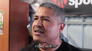 Download Robert Garcia on Abel Sanchez saying Lomachenko schools Mikey ″It might be personal″ explains Video