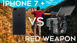 Download iPhone 7 + Video vs $50,000 RED Weapon Footage Video
