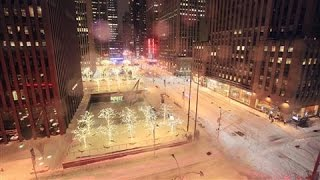 Download Timelapse: Storm Dumps Record Snow on New York City Video