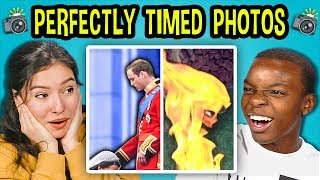 Download 10 PERFECTLY TIMED PHOTOS w/ Teens #2 (React) Video