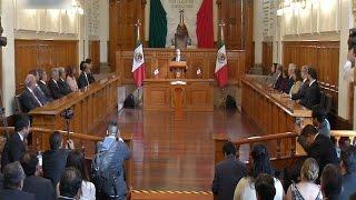 Download Instruye el gobernador Miguel Ángel Yunes a su gabinete a actuar con honestidad y transparencia Video