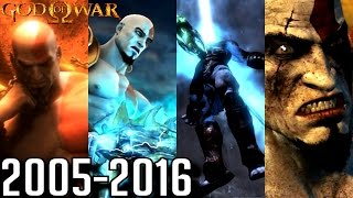 Download God of War ALL ENDINGS 2005-2016 (PS2, PS3, PS4, PSP) Video