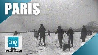 Download 1946 : 30 cm de neige à Paris | Archive INA Video