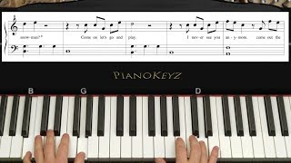 Download How to Play ″Do You Want to Build a Snowman?″ Piano Tutorial with Sheets! Video