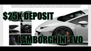 Download BUYING NEW LAMBORGHINI EVO | LAMBROS Video