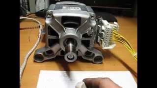 Download Запуск коллекторного двигателя MCA 52/64 - 148/ZN4 Video