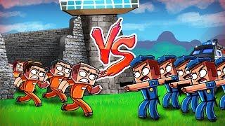 Download Minecraft | Good vs Evil - ESCAPED PRISONER CITY TAKE OVER! (Police vs Prisoners) Video