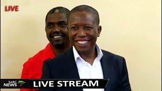 Download EFF leader Julius Malema Address - Land Court Case Postponed Video