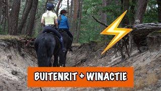 Download Buitenrit met bliksem en onweer ⚡️ | PaardenpraatTV Video