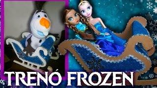 Download TRENÓ FROZEN - Decoração Frozen - Festa Frozen Video