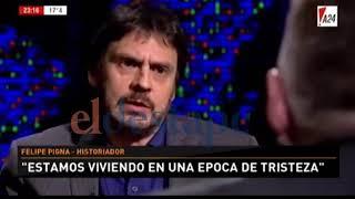 Download Felipe Pigna elogió a Cristina y dilapidó a Macri en la cara de Novaresio Video