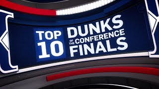 Download Top 10 Dunks of the Conference Finals | 2017 NBA Playoffs Video