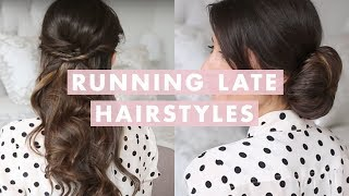 Download Running Late Hairstyles Video