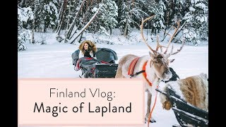 Download Finland Travel Vlog: Magic of Lapland Video