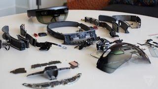 Download Microsoft HoloLens teardown Video