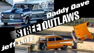Download Jeff Lutz wrecks vs Daddy Dave at the Memphis Street Outlaws No Prep Video