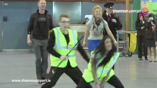 Download Shannon Airport Flashmob Video