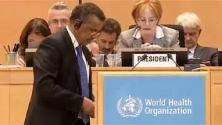Download Dr. Tedros Adhanom elected as the New Director General of World Health Organization W.H.O Video