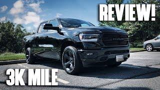 Download 3,000 Mile Review! 2019 RAM 1500 5.7L HEMI Truck (Laramie, Limited, Big Horn, Lone Star) Video