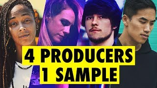 Download 4 PRODUCERS FLIP THE SAME SAMPLE feat. Virtual Riot, Bad Snacks, Sarah the Illstrumentalist Video