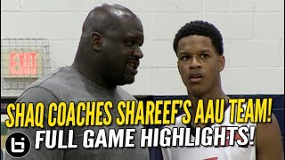 Download Shareef O'Neal Goes OFF w/ Shaq Coaching Him & Cal Supreme vs Brad Beal!! Full Highlights! Video