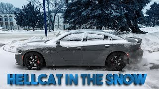 Download THIS IS WHY YOU NEVER DRIVE A HELLCAT IN THE SNOW!!! Video