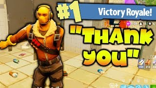 Download HELPING KID WIN HIS FIRST FORTNITE GAME!!!! Video