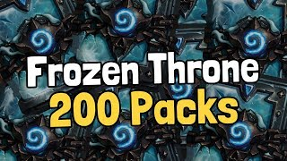 Download Opening 200 Frozen Throne Packs - Hearthstone Video