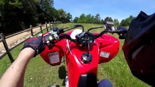 Download Trx 400x Honda first ride Video
