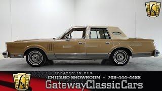 Download 1982 Lincoln Continental Mark VI Gateway Classic Cars Chicago #702 Video