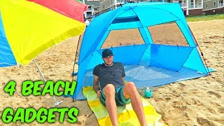Download 4 Beach Gadgets Put to the Test Video
