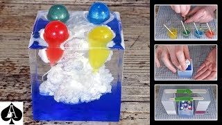 Download Balloons in the Clouds Epoxy Resin Paperweight   Ivory Soap Microwave Technique   DIY Video