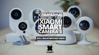 Download ALL Xiaomi Smart Cameras compared! Video