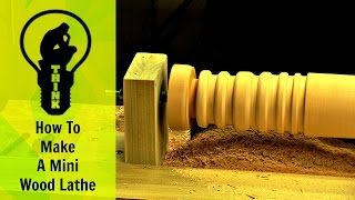 Download How to make a mini lathe in 10 minutes Video