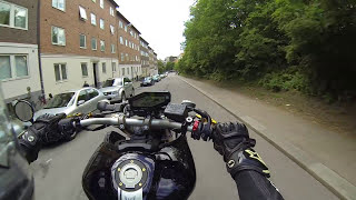 Download Yamaha MT09 FZ09 Akrapovic ONBOARD City cruise 2016 Video