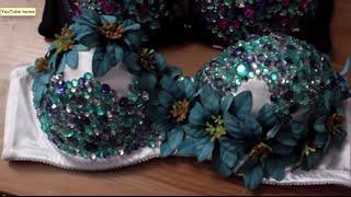 Download EDC DIY| Flower RhineStone Bra Top Video