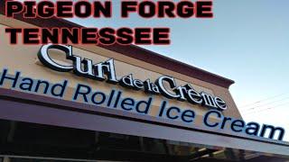 Download New unique Ice cream parlor in Pigeon Forge Curl De la Creme Video