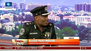 Download 'We Had No Hand In The Invasion Of Saraki's Residence'- Police PRO Pt.1 |Sunrise Daily| Video