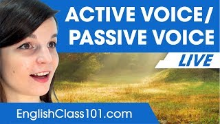 Download Active and Passive Verb Forms - Basic English Grammar Video