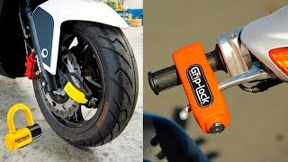 Download 5 SECURE BIKE ACCESSORIES INVENTION ▶ Lock Motorcycle Use This Gadgets Video