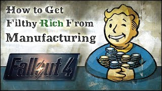 Download How to Get Rich from Manufacturing 💰 Fallout 4 No Mods Shop Class Video