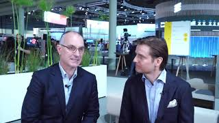 Download #MWC19 - Talking with Peter Laurin, Senior VP & Head of Business Area Managed Services, Ericsson Video
