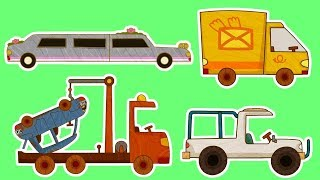 Download Мультики - МАШИНКИ - Все серии подряд - Фургон, Лимузин, Автокран и другие машинки Video
