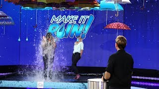 Download Two Fans Suit Up for a Game of 'Make It Rain'! Video